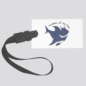 Predator Of The Seas Luggage Tag