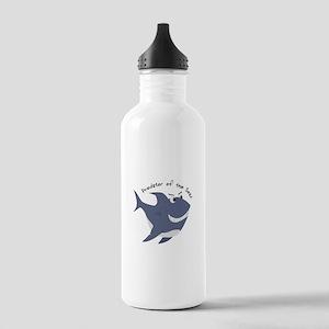Predator Of The Seas Water Bottle