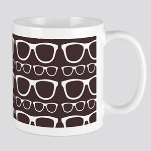 Cute Retro Eyeglass Hipster Mug