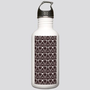 Cute Retro Eyeglass Hi Stainless Water Bottle 1.0L