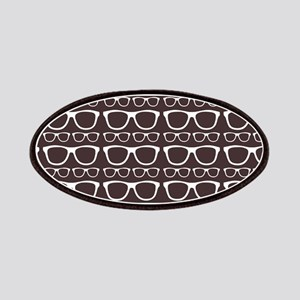 Cute Retro Eyeglass Hipster Patches