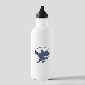 Whens Dinner? Water Bottle