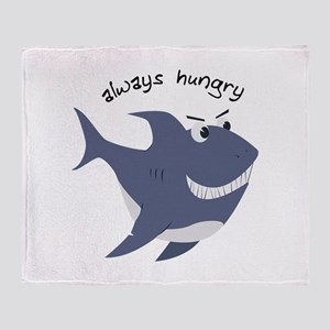Always Hungry Throw Blanket