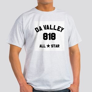 """""""DA VALLEY 818 ALL-STAR"""" Light T-Shirt"""