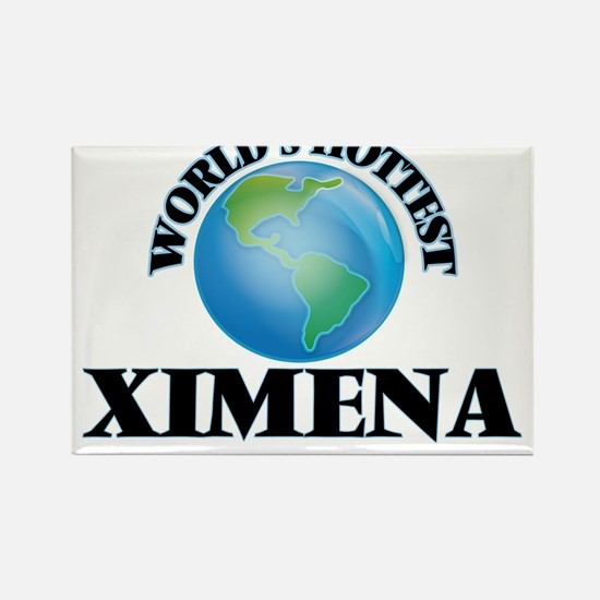 World's Hottest Ximena Magnets
