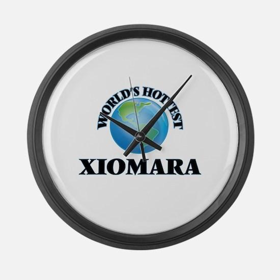 World's Hottest Xiomara Large Wall Clock
