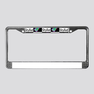SIZZLING STYLIST License Plate Frame