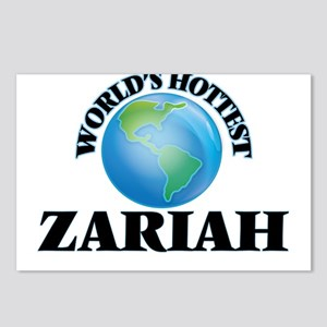 World's Hottest Zariah Postcards (Package of 8)