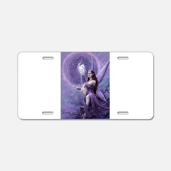 fairy and griffin Aluminum License Plate