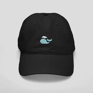 Spouting Whale Baseball Hat