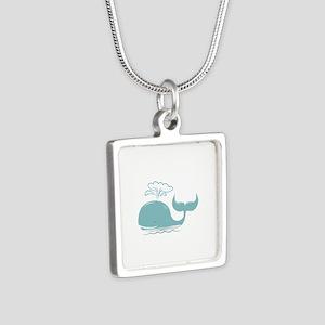 Spouting Whale Necklaces