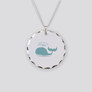 Spouting Whale Necklace