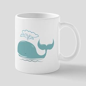 Spouting Whale Mugs