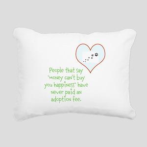 adoption happiness Rectangular Canvas Pillow