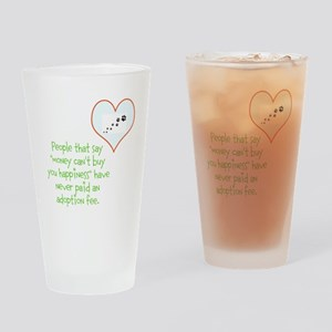 adoption happiness Drinking Glass