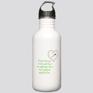 adoption happiness Water Bottle