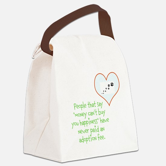 adoption happiness Canvas Lunch Bag