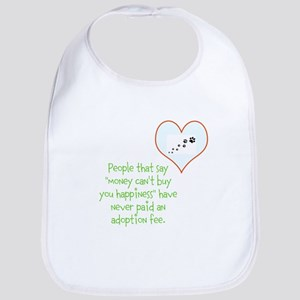 adoption happiness Bib