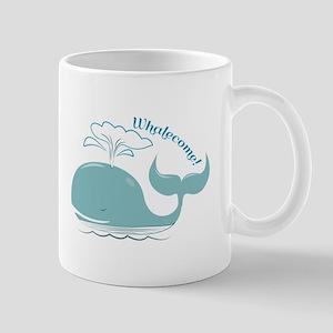 Whalecome! Mugs