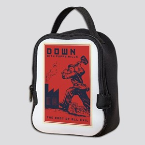 Down With Puppy Mills Neoprene Lunch Bag