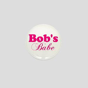 Bob's Babe Mini Button