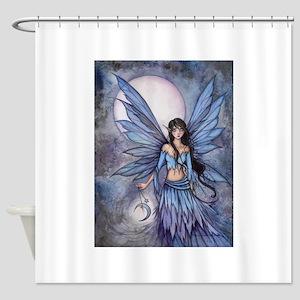 Lunetta Fairy Fantasy Art Shower Curtain