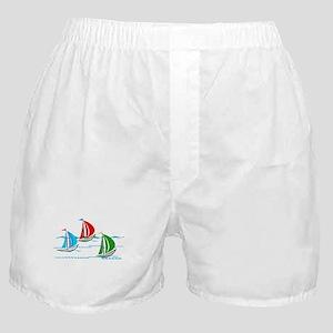 Three Yachts Racing Boxer Shorts