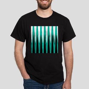 Wave Design Teal T-Shirt
