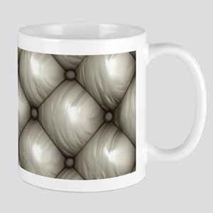 Lounge Leather - White Mug
