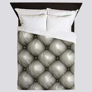 Lounge Leather - White Queen Duvet