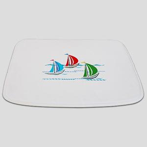 Three Yachts Racing Bathmat