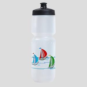Three Yachts Racing Sports Bottle