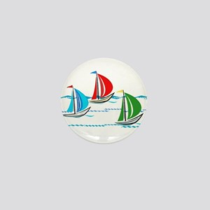 Three Yachts Racing Mini Button
