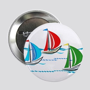 "Three Yachts Racing 2.25"" Button"