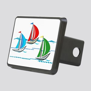 Three Yachts Racing Rectangular Hitch Cover