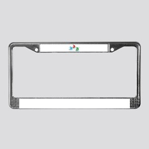 Three Yachts Racing License Plate Frame