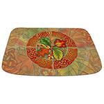 Celtic Autumn Leaves Bathmat