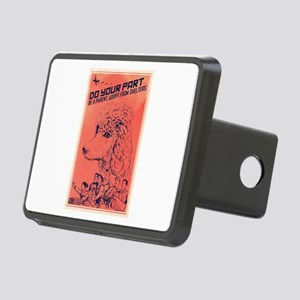 Do Your Part Rectangular Hitch Cover
