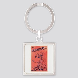 Do Your Part Square Keychain
