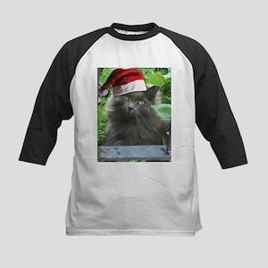 Christmas Russian Blue Long-haired Cat Baseball Je