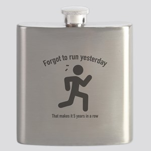 Forgot To Run Yesterday Flask