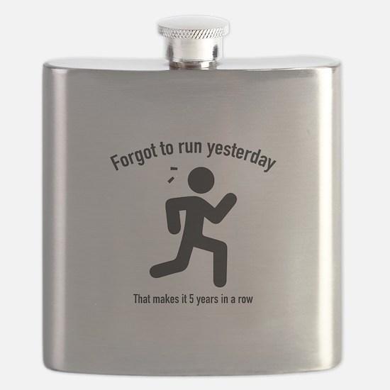 Forgot To Run Yesterday Flask