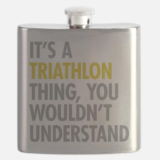 Its A Triathlon Thing Flask