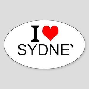 I Love Sydney Sticker