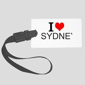 I Love Sydney Luggage Tag