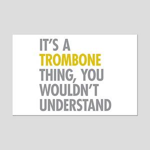 Its A Trombone Thing Mini Poster Print