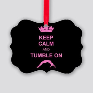 Keep Calm and Tumble on Ornament