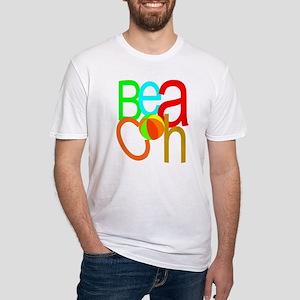 Beach Balls Fitted T-Shirt