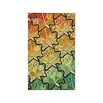 Celtic Leaf Tesselation 3'x5' Area Rug