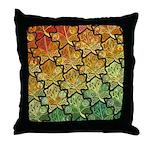 Celtic Leaf Tesselation Throw Pillow